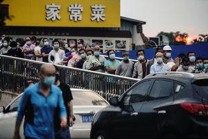 北京疫情處上升期 所有小區封閉式管理 天安門如同無人區