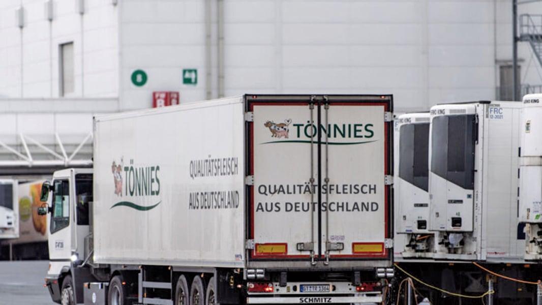 托尼斯集團已經關閉位於古特斯洛郡(Guetersloh)的屠宰場。(Getty Images)