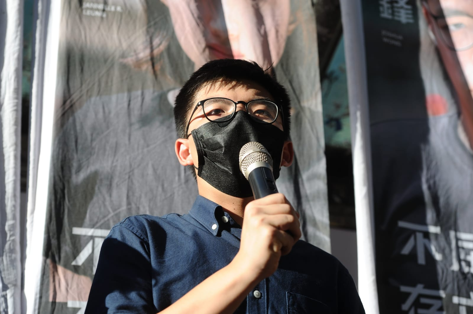 香港眾志秘書長黃之鋒將參與民主派九龍東初選,冀國際戰線獲更多民意授權。(宋碧龍/大紀元)