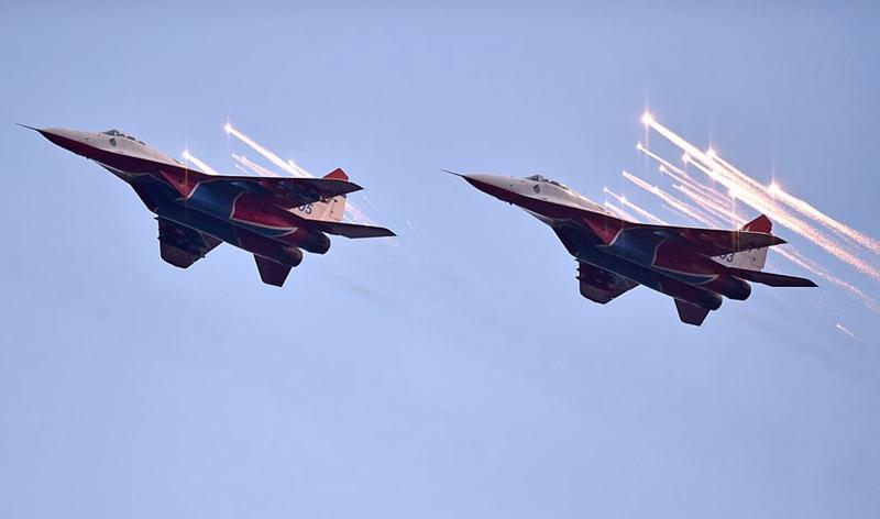 中印邊境爆發流血衝突後,俄羅斯支持印度,將向其提供21架米格-29戰機。(ANDREJ ISAKOVIC/AFP via Getty Images)