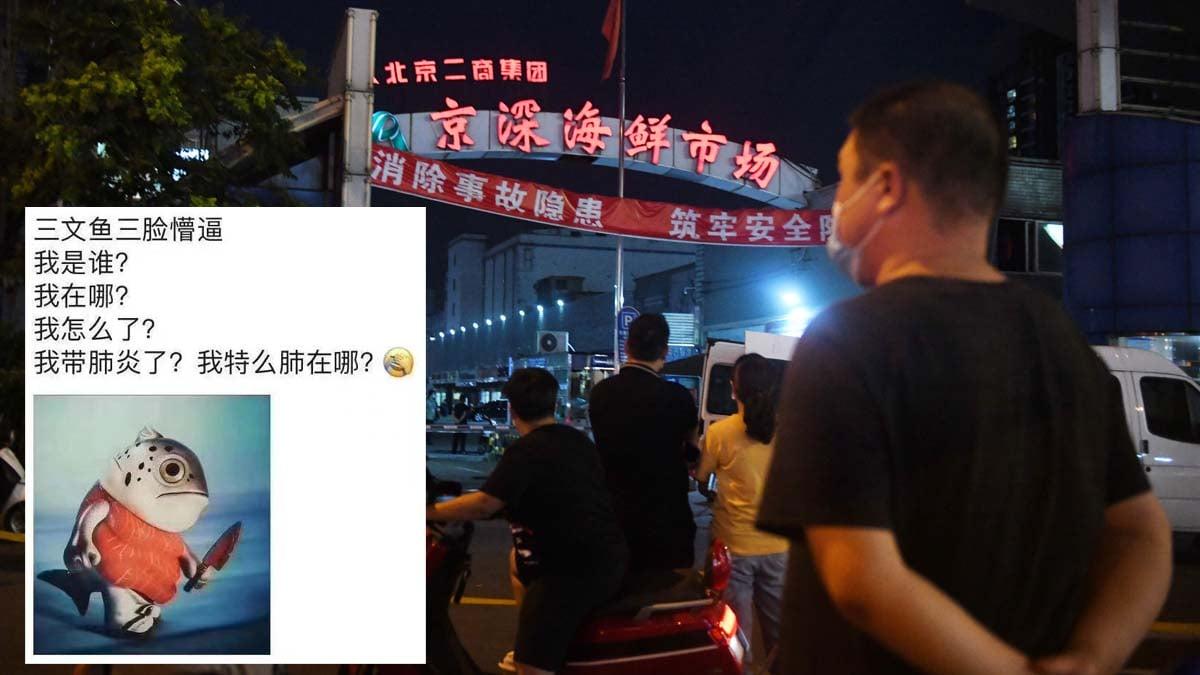 北京再爆疫情,三文魚無辜「背鍋」。(Getty Images/網絡圖片)