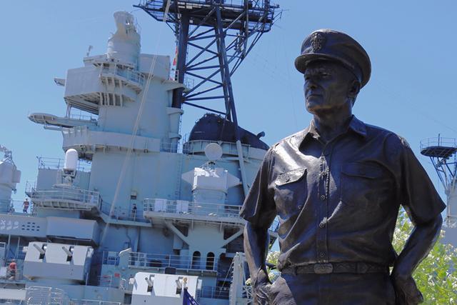 密蘇里號戰列艦以時任總統杜魯門的出生地密蘇里州命名。(kknews)