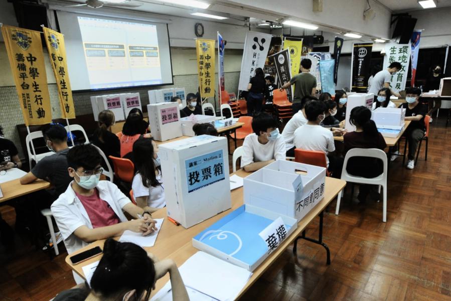 【6.20公投】慈雲山投票站 市民:現在還有機會 能爭取儘量爭取