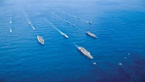 美提台灣防衛法  下一步或在台駐軍  美國在亞太佈有重兵