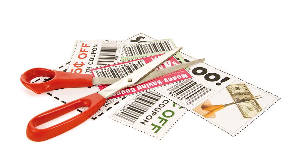 使用優惠券時要仔細思量,你想買的東西是否真的需要?(Fotolia)