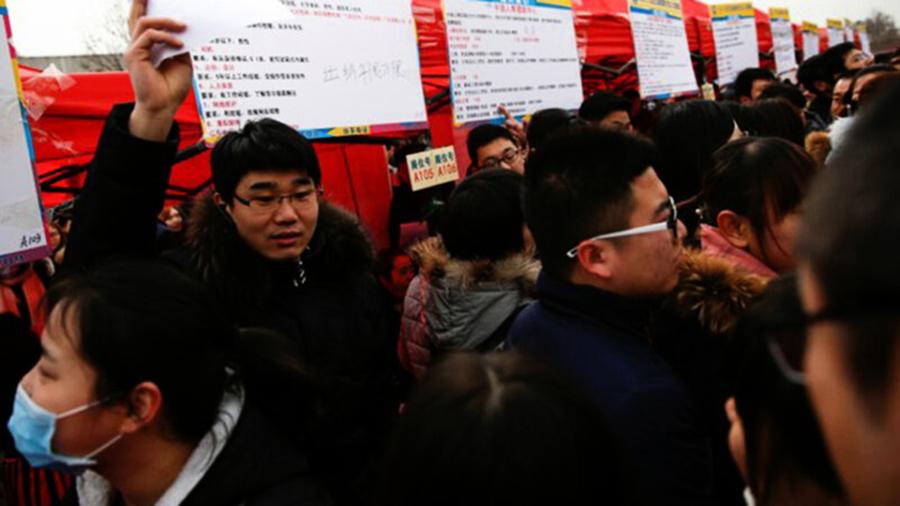 中國874萬大學生畢業 74%無工作