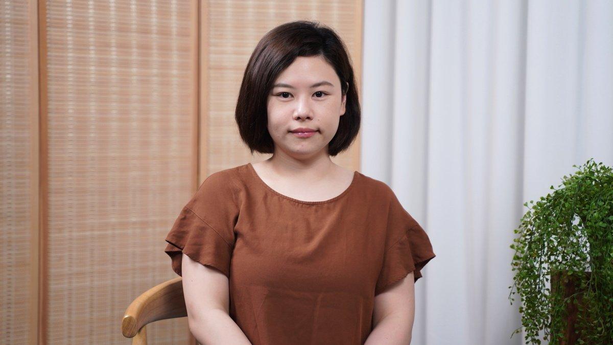 圖為余慧明於2020年5月接受香港大紀元記者梁珍採訪時之資料照。((Jack / 大紀元))