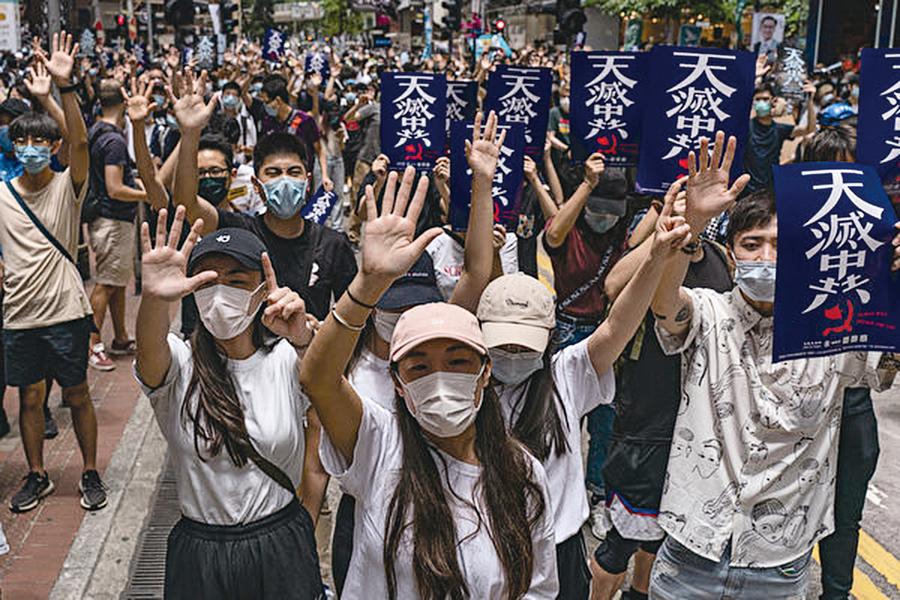 港版國安法草案出台 香港恐變大陸