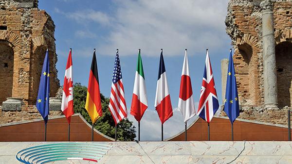 「港版國安法」遭遇前所未有的國際強大阻力,七國集團(G7)外交部長17日發表聯合聲明,敦促北京重新考慮這一決定。(AFP)