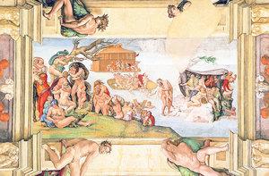 文藝復興巨匠 米開朗基羅 《創世紀》(四)