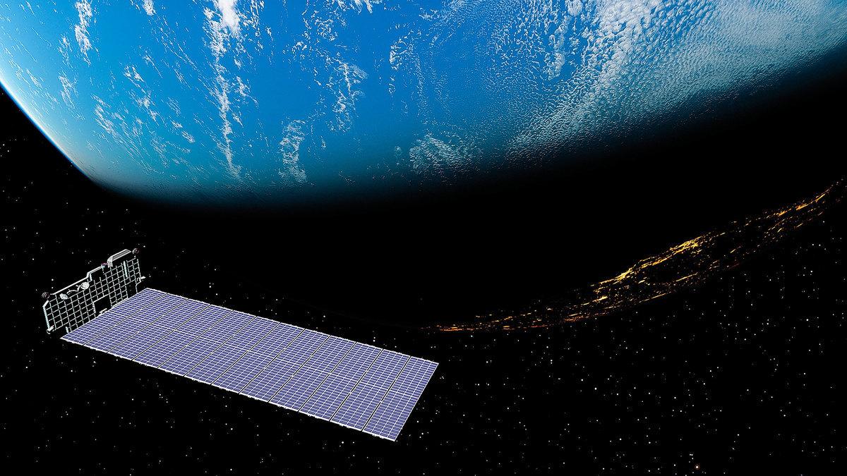 星鏈衛星部署在低地軌道,以龐大的數量來覆蓋全球。(Shutterstock)