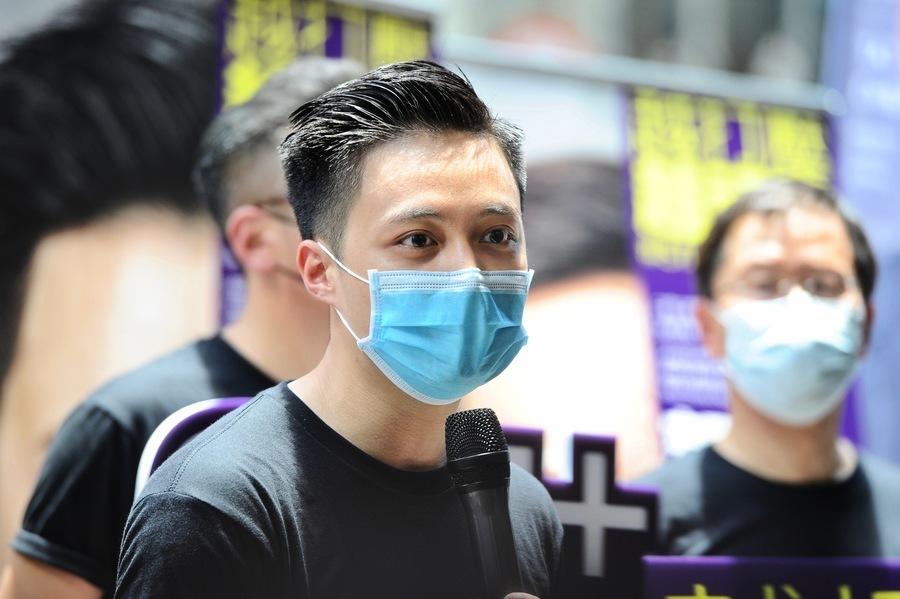 勤奮將深紅錦屏區染黃 區議員李予信:香港人從來都會逆轉勝