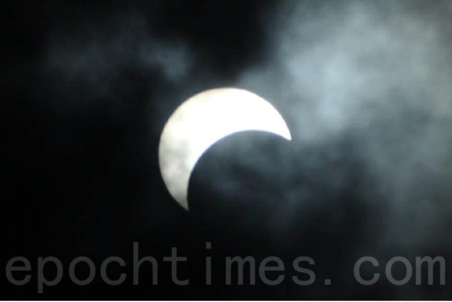 日食再現 黑暗只是一瞬 風水師:港人撐得過去