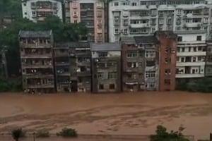 重慶綦江流域將現八十年來最大洪水