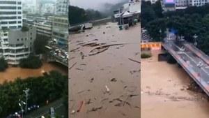 重慶綦江超警戒水位近5米 危及下游三峽大壩