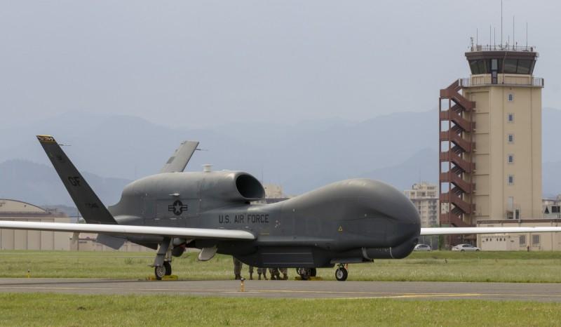 美全球鷹無人機現身台海 專家:中共最怕斬首行動
