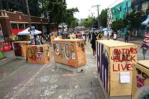 美西雅圖宣佈將拆除示威者自治區