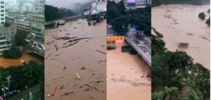 當局封鎖重慶洪災汛情 網傳三峽庫區秘密洩洪