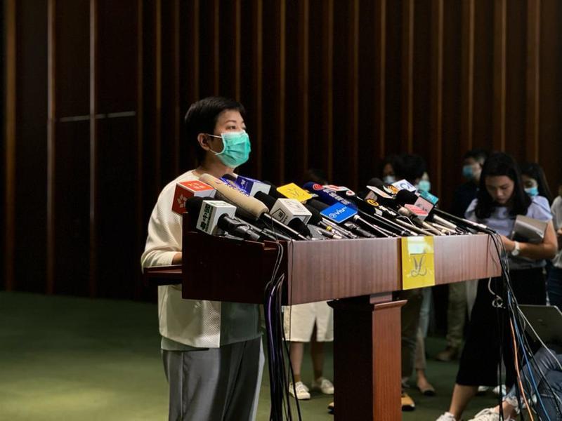「國安法」今日說「不急」明日就殺到?黃碧雲:梁君彥一手摧毀代議士平台