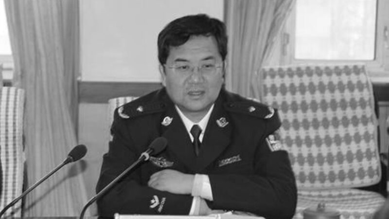 新疆自治區黨委政法委副書記戴光輝(網路圖片)