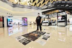 【組圖】端午節 元朗Yoho Mall市民反極權「和你Shop」「衛我城」
