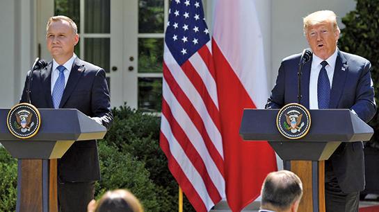 駐德美軍將轉移至波蘭