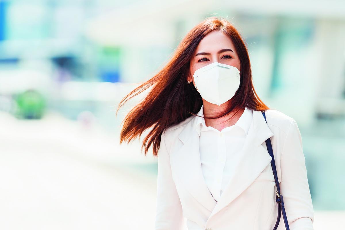 防疫期間,需留意保護臉部肌膚。