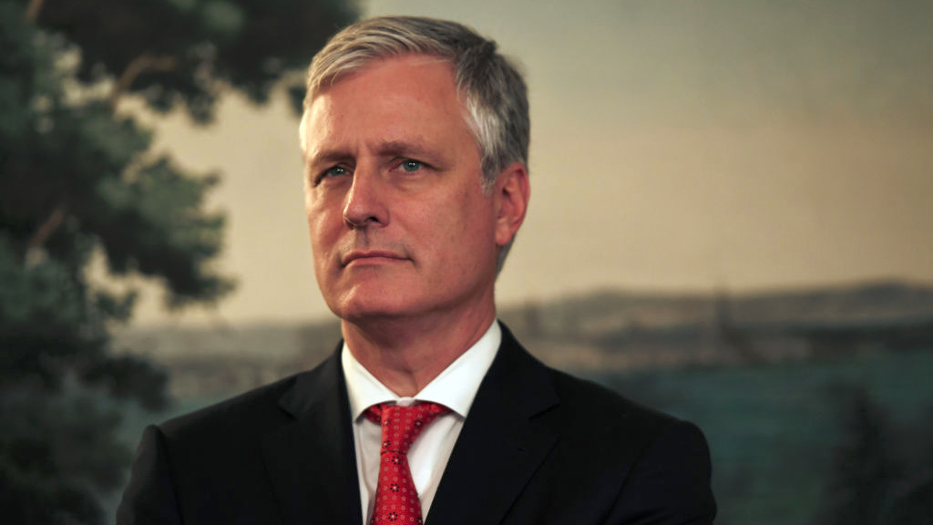 白宮國家安全顧問羅伯特·奧布萊恩(Robert O'Brien)表示,美國對中共的幼稚認知已經結束。他強調,美國願與中國人民建立良好的關係,但中共不等於中國或她的人民。(SAUL LOEB/AFP via Getty Images)