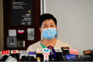 【民主派初選】九龍西論壇黃碧雲受挑戰 表示若當選「一起衝」