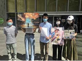 「第一年的故事」藝術展無故被取消 區議員龔振祺譴責民政處