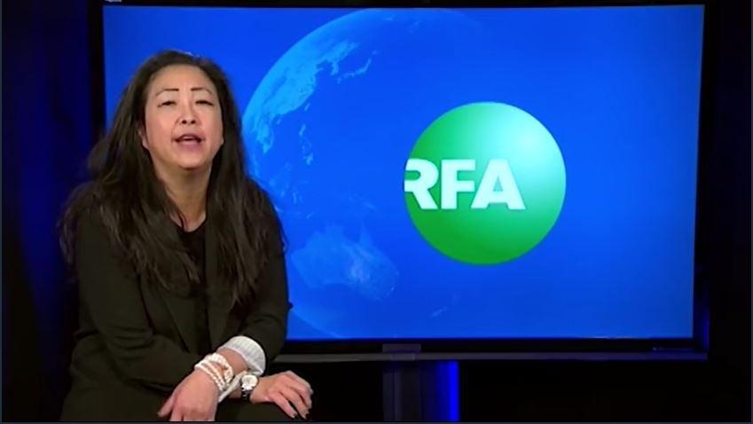 掌控自由亞洲電台(RFA)長達14年的麗比劉(Libby Liu),把USAGM用於突破中共網絡封鎖的資金分散開來,並企圖把公開技術基金(OTF)分離出來並私有化,使美國政府突破中共網絡封鎖的項目沒有任何進展。(insideVOA影片截圖)