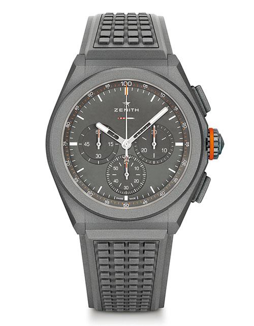 ZENITH真力時則與英國汽車製造商LAND ROVER搭檔,推出聯名限量腕錶。