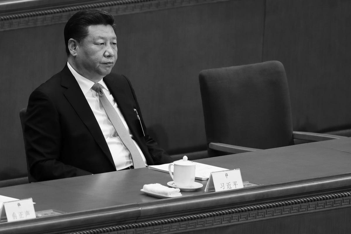 日媒形容習近平的處境宛如89年「六四」大屠殺的前夜。(圖:Lintao Zhang/Getty Images)