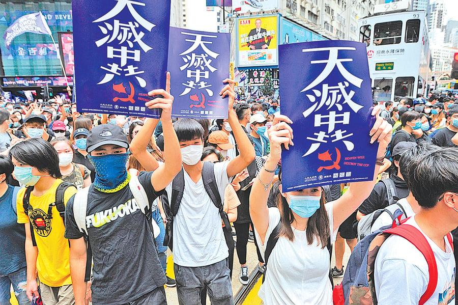 預言:香港成功點燃大陸反共烈火