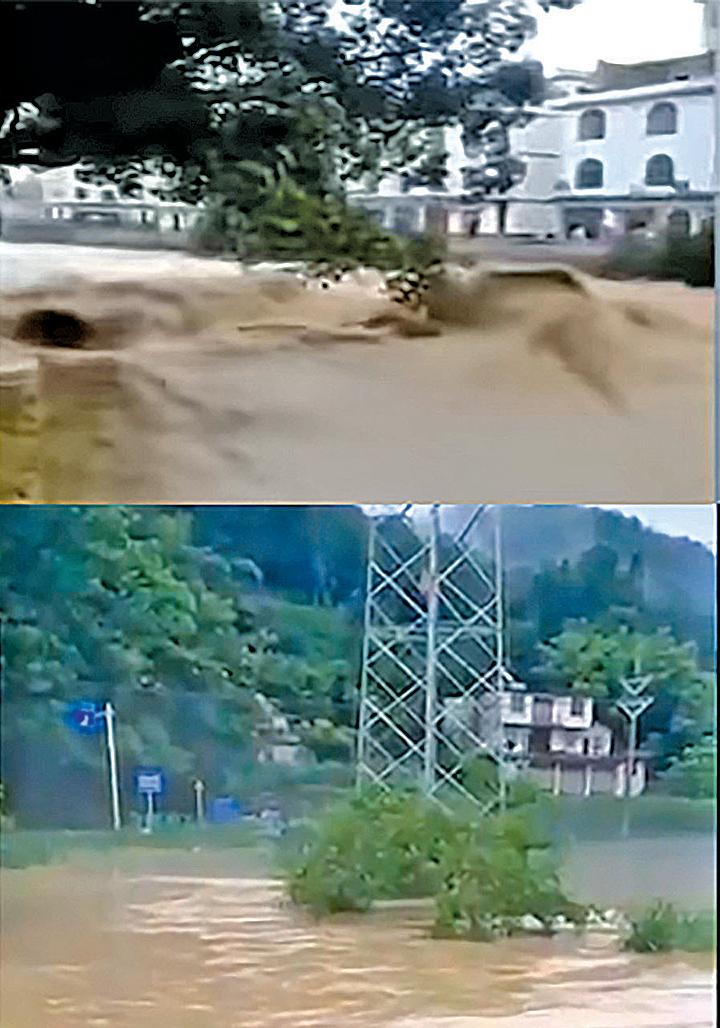 中國水災影響26個省市 宜昌發佈最高級別紅色警報