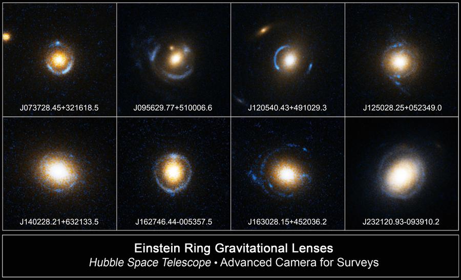 發現第一個愛因斯坦環