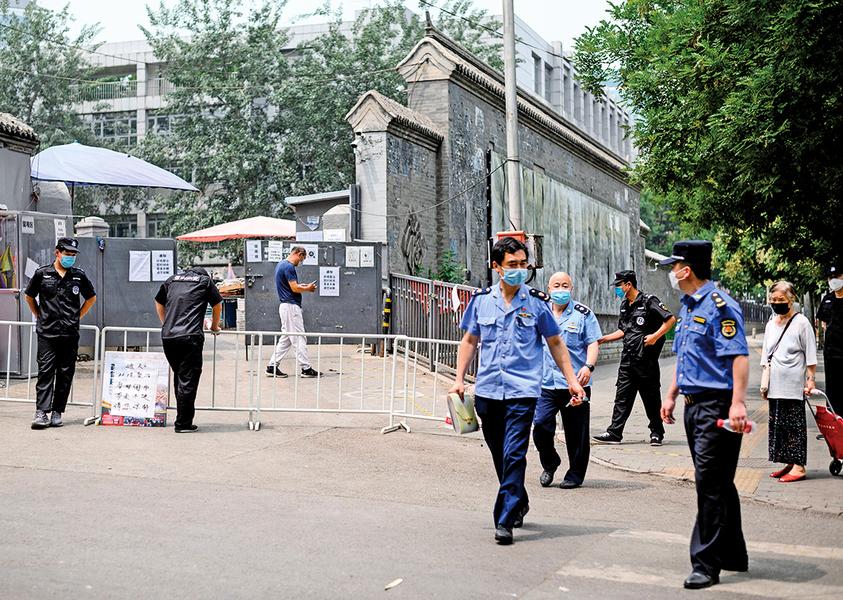地壇醫院數據洩北京虛報疫情