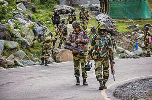 中印邊境肉搏戰 雙方部署搏鬥部隊