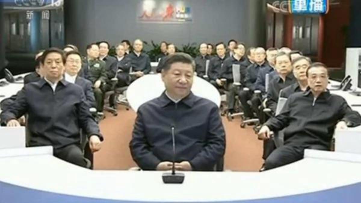 有部份媒體追蹤中共高層的行蹤,發現7常委行蹤詭異,疑似離開北京分散躲疫去了。(影片截圖)