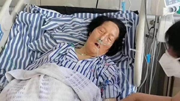 有知情人士透露,申紀蘭在兩會染疫曾在301醫院隔離治療。(網絡圖片)