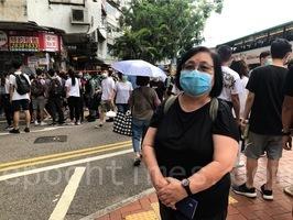 參加七一遊行 蔡詠梅:我們不能被恐懼壓倒