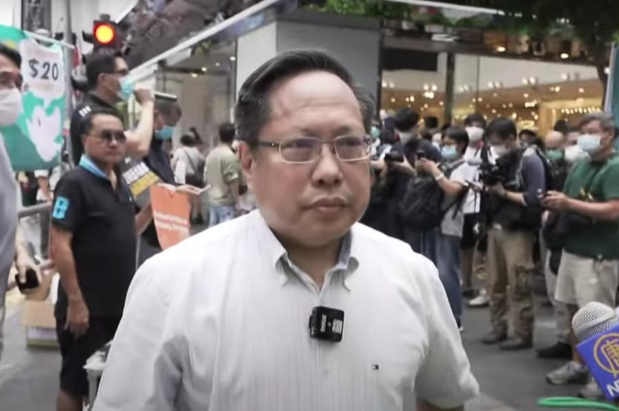 七一遊行抗議國安法 何俊仁:我們不會走 和大家共進退