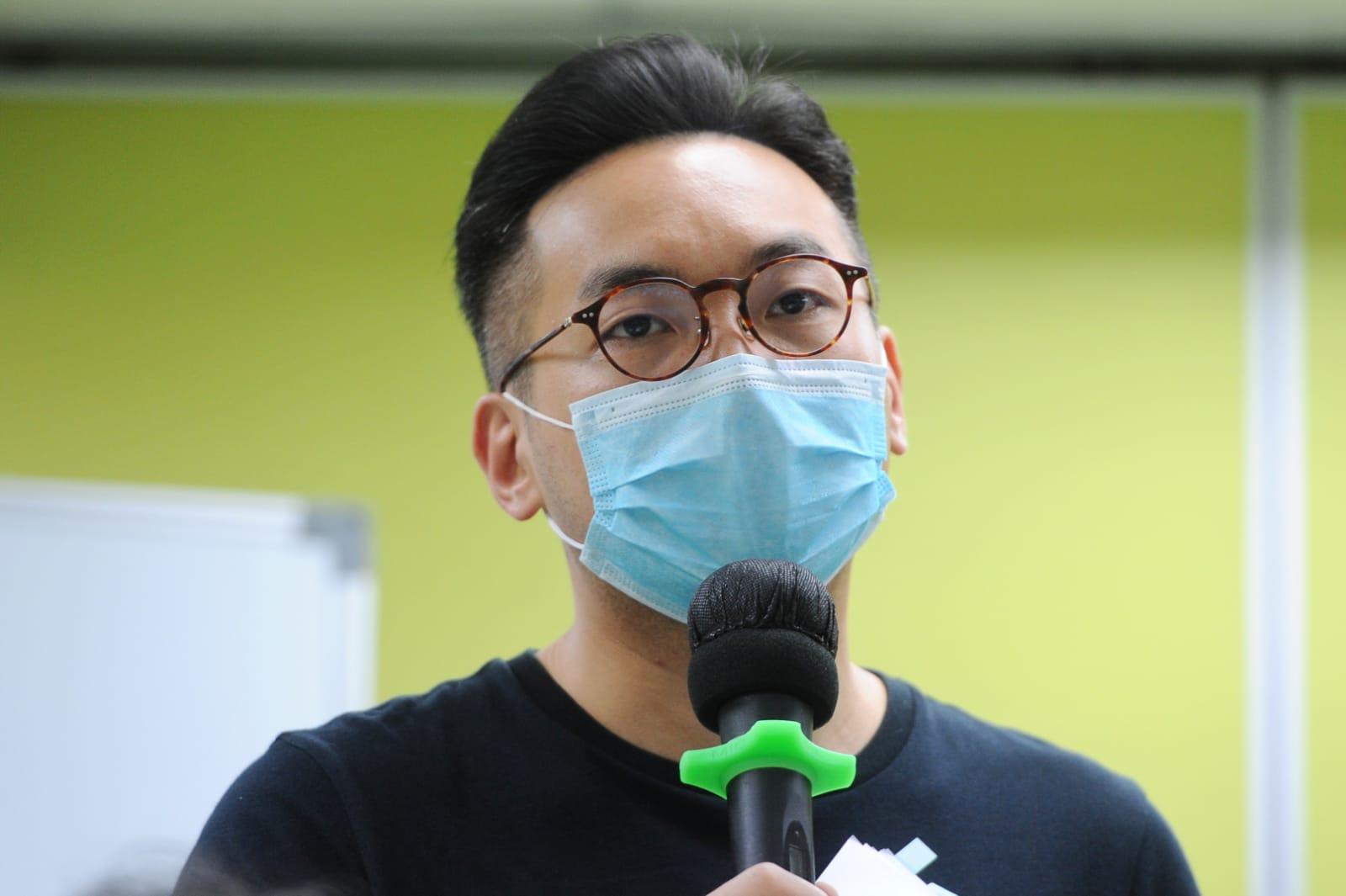楊岳橋表示,「港版國安法」先假定不准保釋,除非法庭有充分理由,這與香港普通法矛盾。(宋碧龍/大紀元)