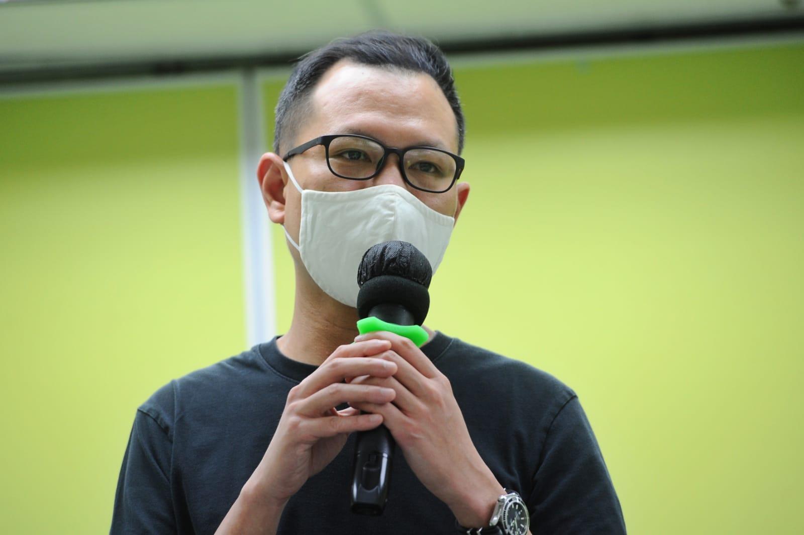 郭榮鏗表示,「港版國安法」生效,旁證、佐證全部是中共的人,司法獨立蕩然無存。(宋碧龍/大紀元)