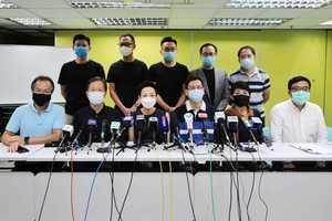 民主派回應「國安法」:唯有堅持 香港才能繼續存在