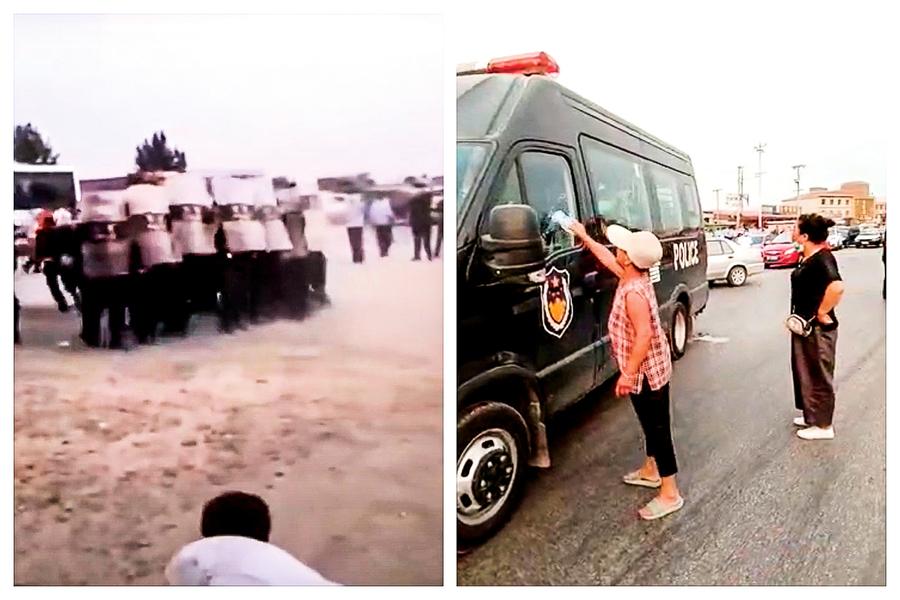 抗議拆遷賠償不公 河北上千村民與警衝突