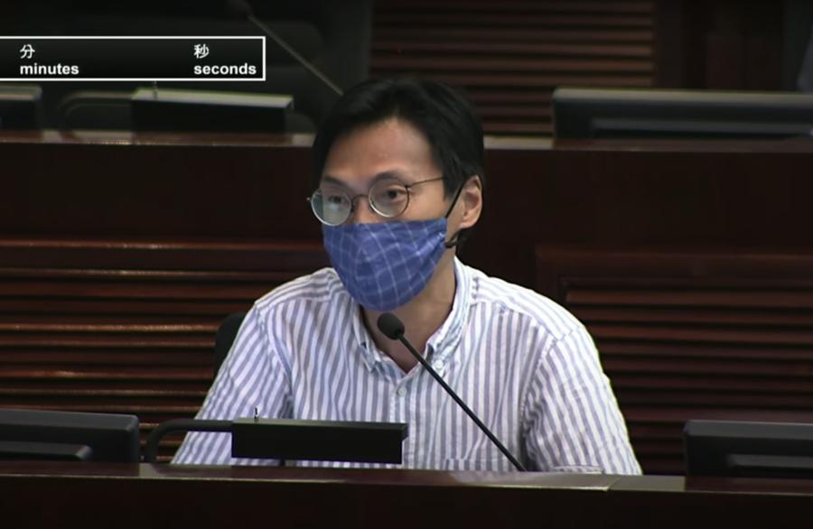 朱凱廸憂立法會辯論「以言入罪」 張達明:惡法凸顯中共政權荒謬
