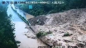 7月1日老天發怒 狂風暴雨泥石流齊襲中國