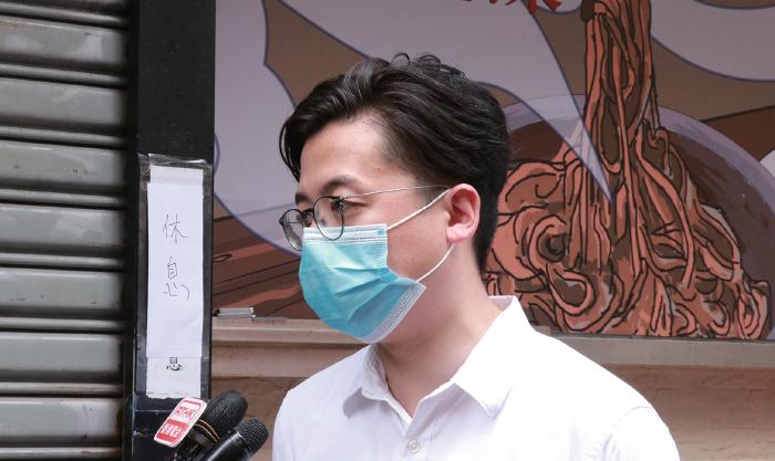 黃店文宣遭舉報違反國安法