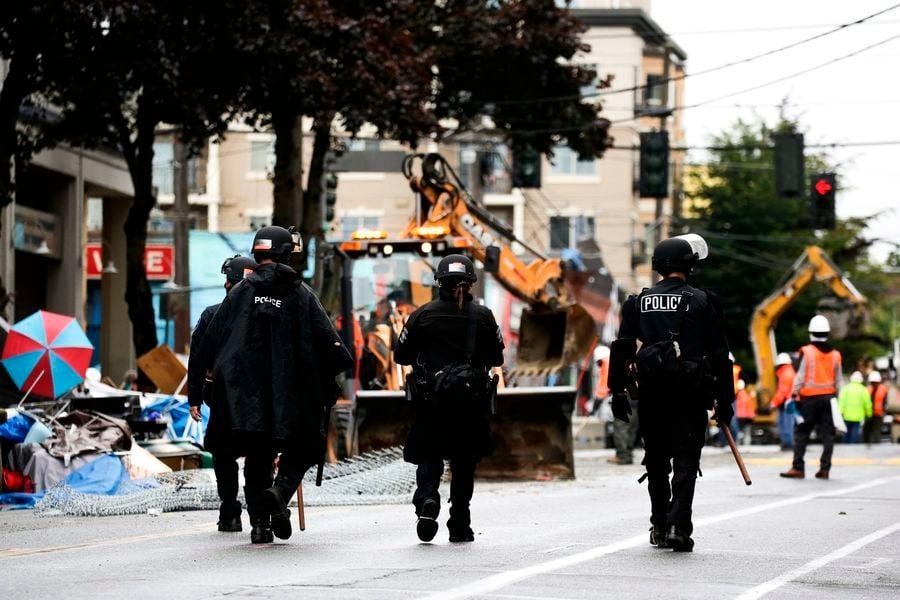 美警方清場「自治區」 西雅圖恢復秩序